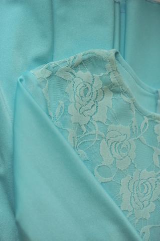 Рейтинговое платье Re7/1 с гипюром
