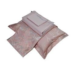 Элитная простыня Mineral розовая от Hamam