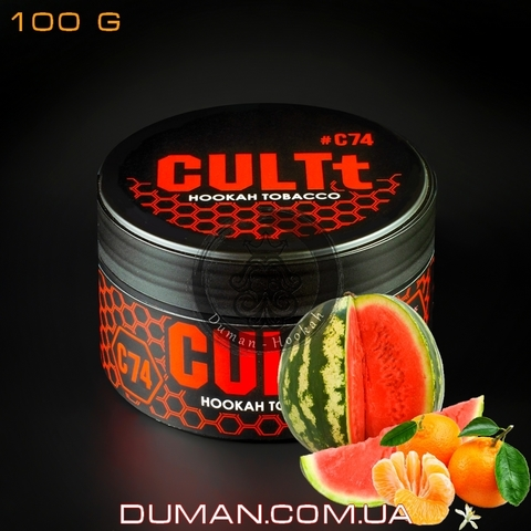 Табак CULTt C74 Watermelon Tangerine (Культ Арбуз Мандарин)