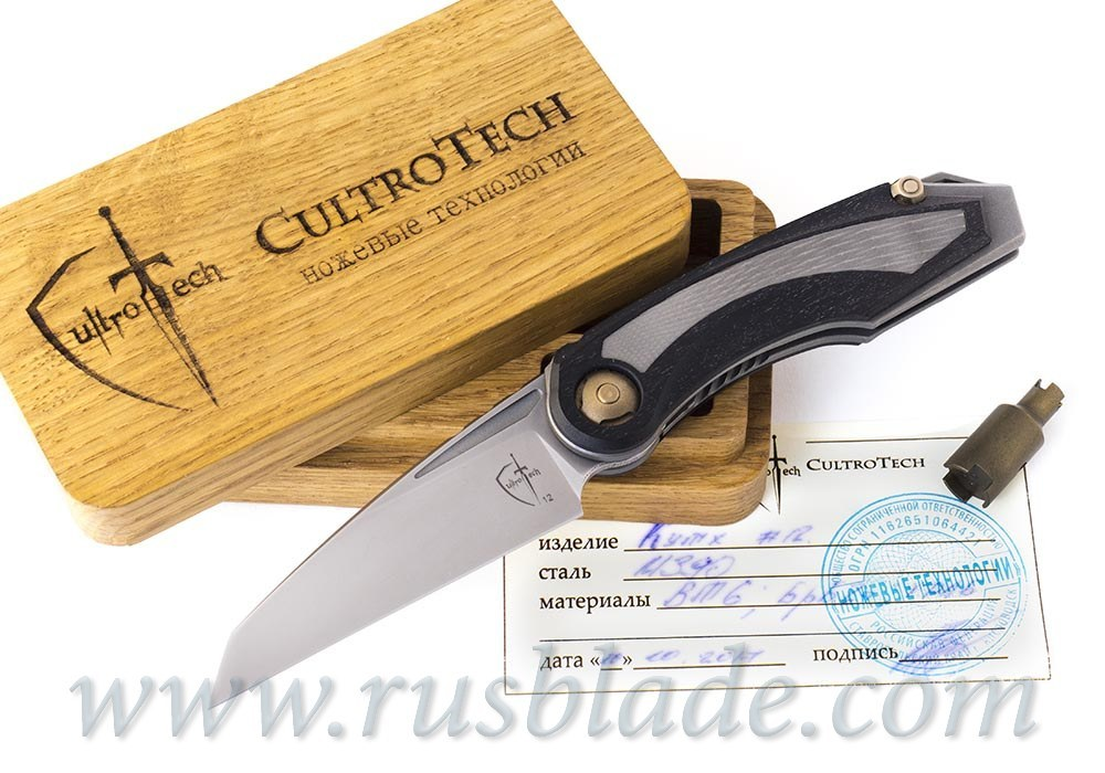 Kutkh m390 Rare knife by CultroTech Knives