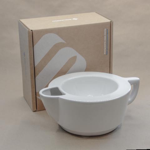 Скаттл - чаша для бритья Squadro warm athmos Белый