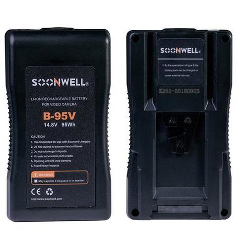 V Mount Battery 95Wh 14.8V - SOONWELL B-95V
