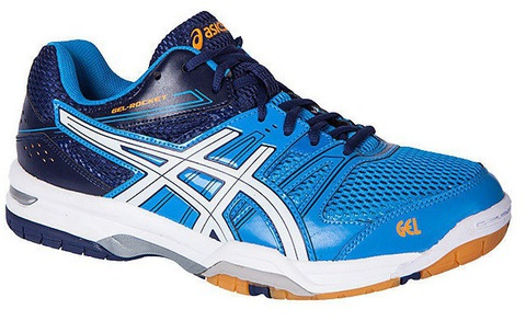 Asics Gel-Rocket 7 Кроссовки для волейбола мужские blue