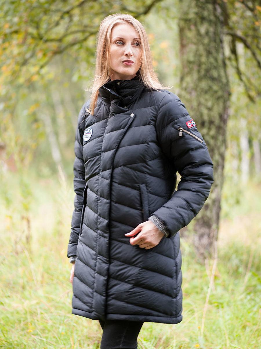 Bergans пуховик Tromsø 3in1 Lady Coat Black