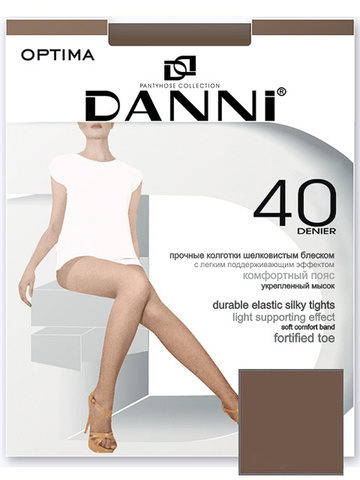 DOP311-40 OPTIMA колготки жен. Загар