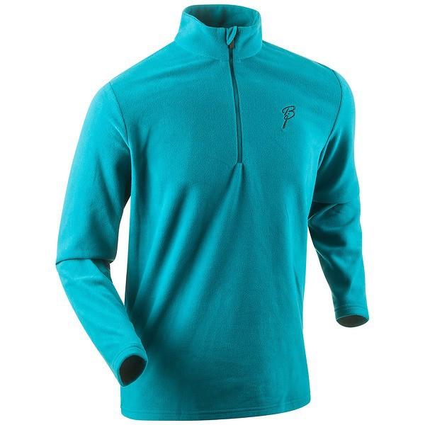 Мужская беговая рубашка Bjorn Daehlie Half Zip Drift (321195 23300) бирюзовая