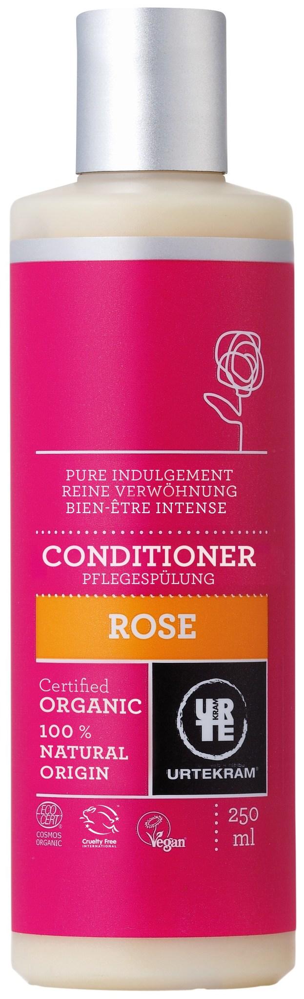 Кондиционер для волос Роза, 250 мл. URTEKRAM