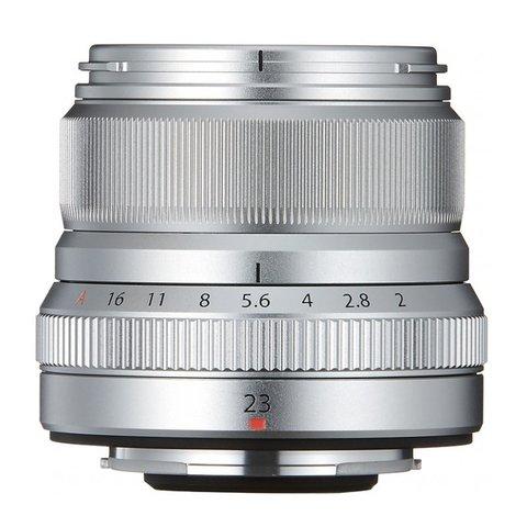 Fujifilm XF 23mm f/2 R WR Silver