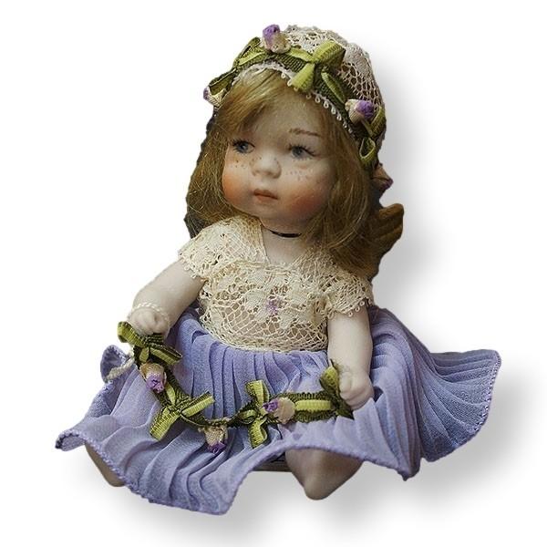 Статуэтки Кукла фарфоровая коллекционная Marigio Angelo в фиолетовом kukla-farforovaya-kollektsionnaya-marigio-angelo-v-fioletovom-italiya.jpeg