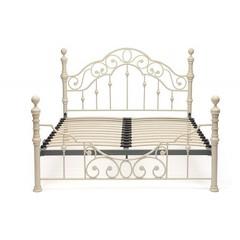 Кровать Виктория 200x180 (Victoria WF 9603) Античный белый