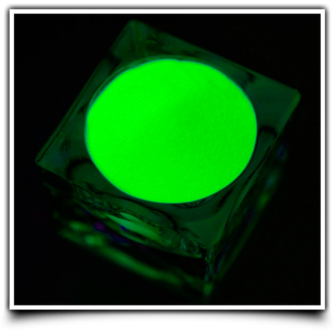 Люминофор Зеленый - в темноте