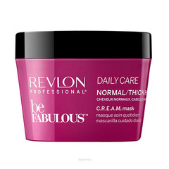 Revlon Professional Be Fabulous C.R.E.A.M. Mask For Normal Thick Hair - Маска для нормальных/густых волос