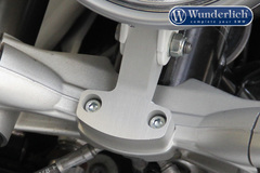 Кронштейн передней фары BMW R NineT серебро