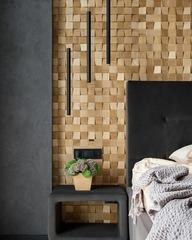 Декоративная  деревянная панель HarleyWood PIXEL светлый
