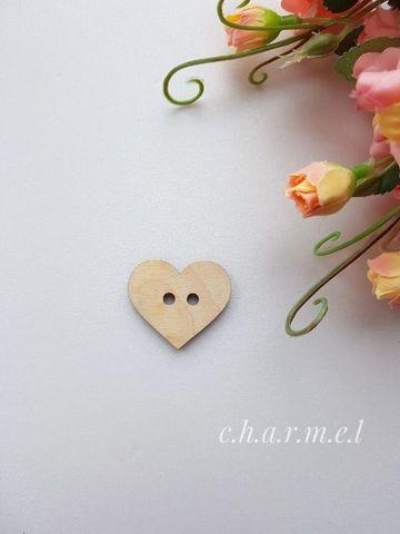 Фигурка пуговица Сердце