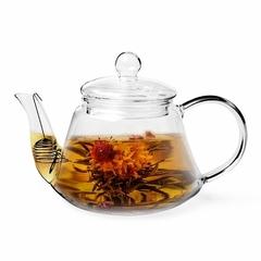 9450 FISSMAN Чайник заварочный 1000мл со стальным фильтром (стекло)