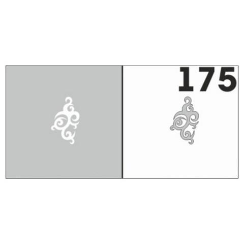 Трафарет для ногтей 6 шт. /1 уп. №175