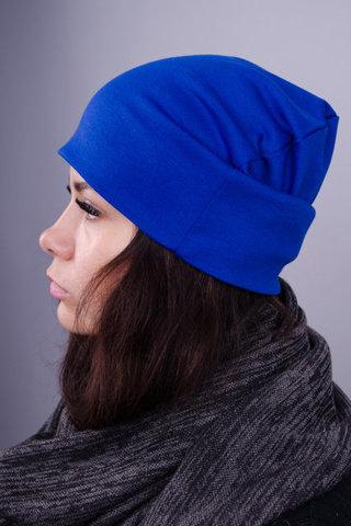 Фэшн. Молодёжные женские шапки. Электрик.