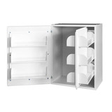 Шкаф медицинский для фармпрепаратов настенный ШМФ-01 (мод.10)