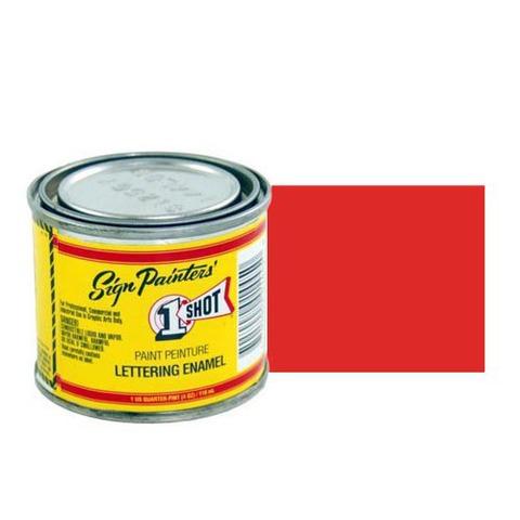 102-L Эмаль для пинстрайпинга 1 Shot Огненно-красный (Fire Red), 118 мл