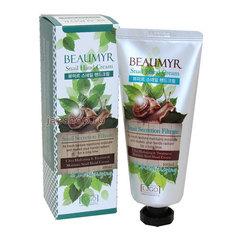 Juno Beaumyr Snail Hand Cream - Увлажняющий крем для рук с экстрактом слизи улитки