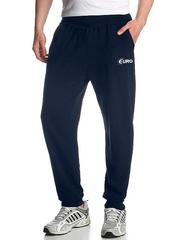4176-5 спортивные брюки мужские, темно-синие