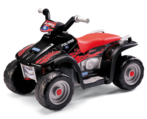 Детский квадроцикл Peg Perego Polaris Sportsman 400 Nero ED1106
