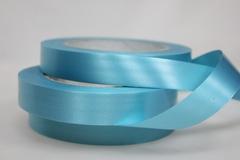 Лента простая (2см*50м) Гладкая без тиснения/Голубой