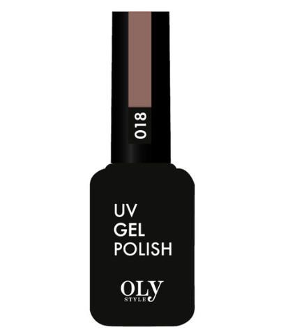 OLYSTYLE Гель-лак д/ногтей тон 018 какао
