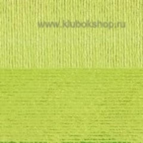 Пряжа Вискоза натуральная Пехорский текстиль Незрелый лимон 483