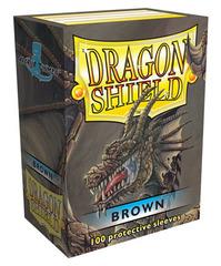 Dragon Shield - Коричневые протекторы 100 штук