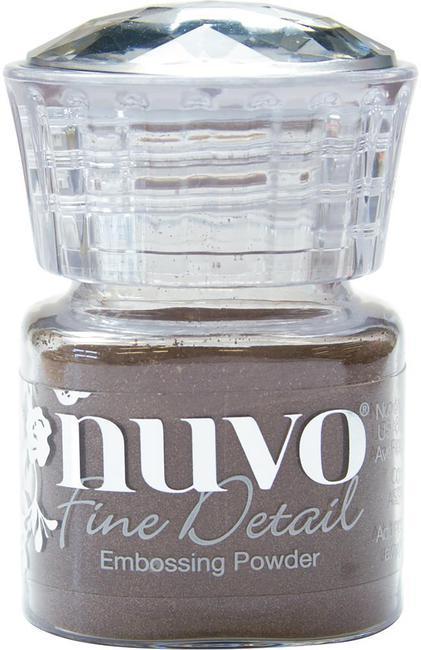 Пудра для эмбоссинга NUVO - copper blush - detail