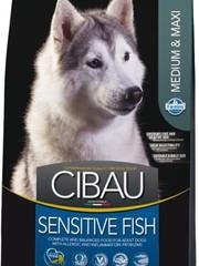 Корм Farmina Cibau Sensitive Medium/Maxi с рыбой для собак средних и крупных пород
