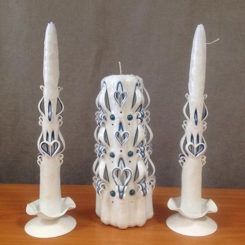 Резные свечи - Семейный очаг
