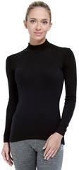 Терморубашка из шерсти мериноса Norveg City Style Black женская