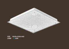 Потолочный LED светильник квадратный Lily 60 (до 20 кв.м)