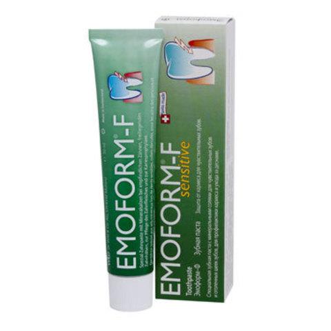 Зубная паста (со фтором) Эмоформ-Ф Emoform-F Dr.Wild, 50 мл