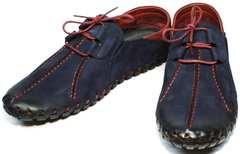 Модные мужские туфли под джинсы Luciano Bellini 23406-00 LNBN.