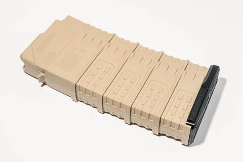 Магазин Pufgun Вепрь-308 на 25 патронов, песочный