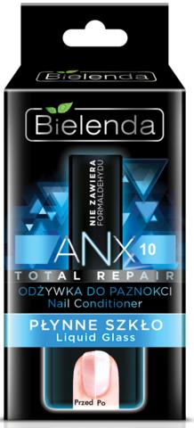 BIELENDA ANX Total Repair Кондиционер для ногтей Жидкое стекло 11мл