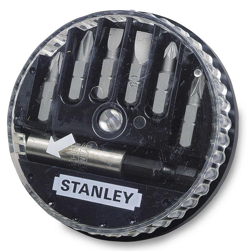 Набор вставок шестигранных и магнитный адаптер  Stanley 1-68-737