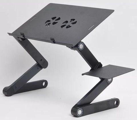 Столик трансформер для ноутбука Т8 с охлаждением позволит вам работ...