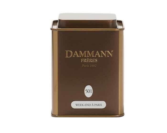 Чай зеленый Dammann Week-end а Paris, 100 г (Дамманн)