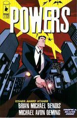 Powers #1 с автографом Брайана Майкла Бэндиса