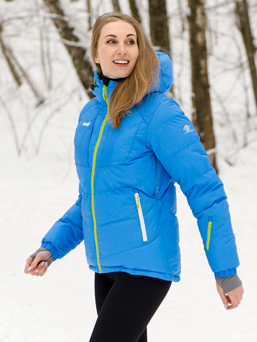 Bergans пуховик 7605 Sauda Down Lady Jacket Light Winter Sky