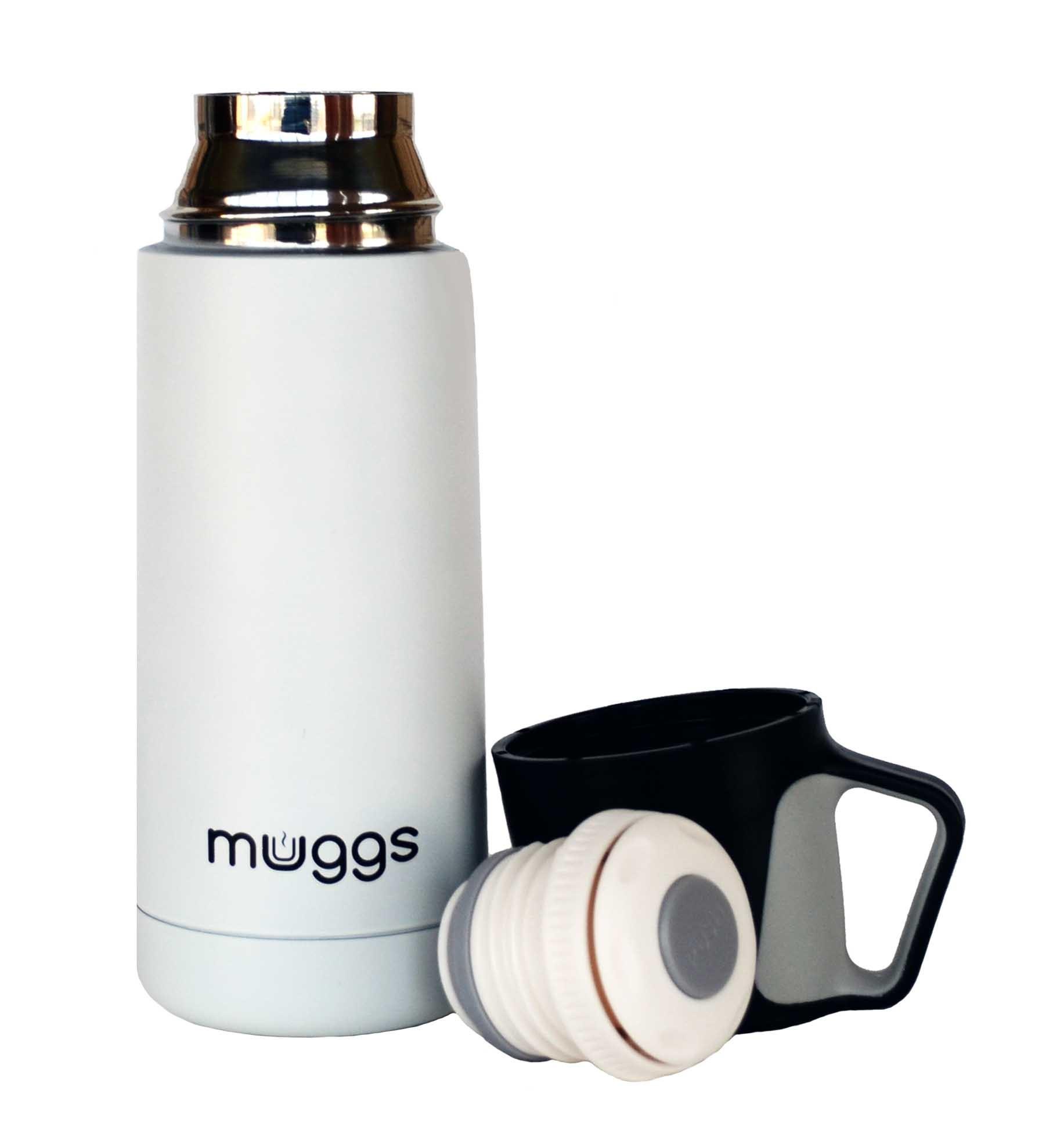 Термос Muggs Jazz 0,35 л. белый