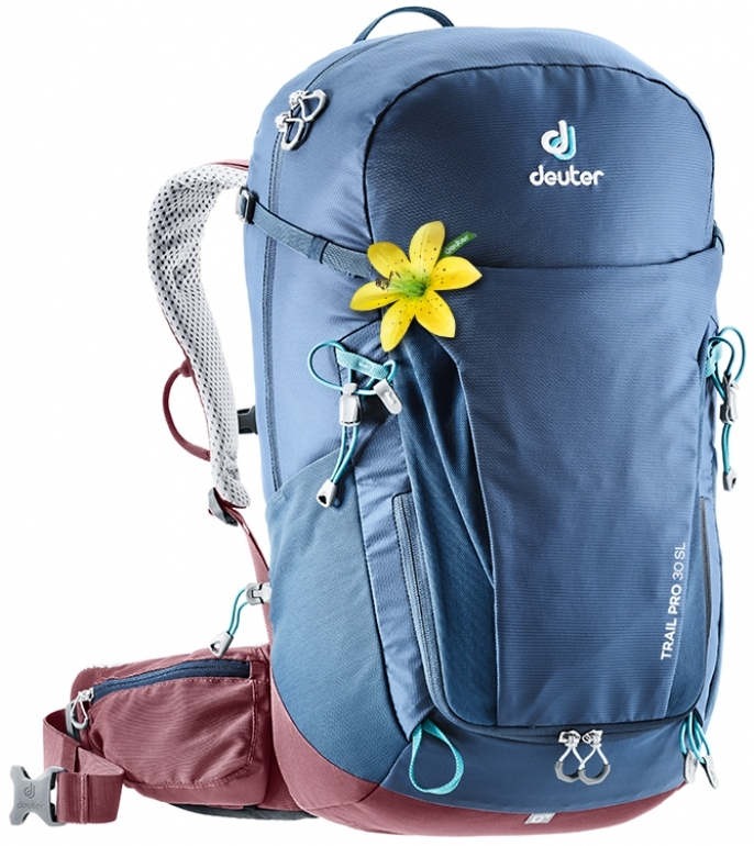 Туристические рюкзаки легкие Рюкзак Deuter Trail Pro 30 SL (2019) image2__1_.jpg