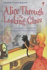Kitab Alice Through the Looking Glass   Lesley Sims