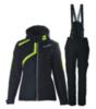 Женский прогулочный утепленный лыжный костюм Nordski Premium Active черный