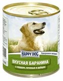 Happy Dog  Консервы для собак Баранина с сердцем, печенью и рубцом 12х750 гр. (72202)